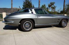 PPG 704C, Ferrari grigio titanio metallic (titanium), 37032.    Stripe is PPG 703C.97, Ferrari canna di fucile (gun metal), 37217