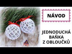 Malá háčkovaná baňka pro začátečníky Small Crochet Bauble - YouTube Christmas Decorations, Christmas Ornaments, Holiday Decor, Crochet, Youtube, Google, Balls, Xmas, Christmas