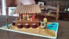 Gingerbread Tiki Bar....jb approved!!