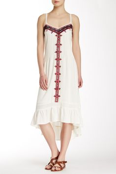Embroidered Western Hi-Lo Dress by Twelfth Street by Cynthia Vincent on @nordstrom_rack