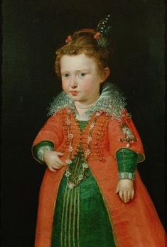 Hmmm???? Peter Paul Rubens (1577-1640) ~ Eleonora Gonzaga (1598-1655), future Queen of Germany ~ ca.1600-1601