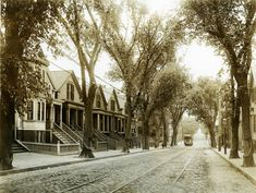 View of Lexington St., East Boston, looking east | General photographic collection (PC001) -- Historic New England