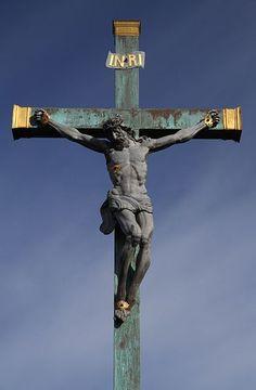 Crist on the Cross.