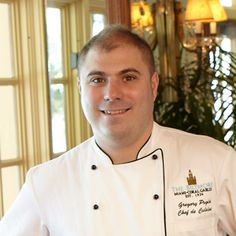 Chef Gregory Pugin, Chef de Cuisine, Palme d'Or is a classic French chef who worked with Chef Jean-Marie Gautier at the Hotel de Palais.  We was a rising star in France before he decided to come to the United States.  And we're so happy he's here and look forward to his pairing at Rodney Strong's 25th Anniversary Dinner on September 20th.  #RSV25.