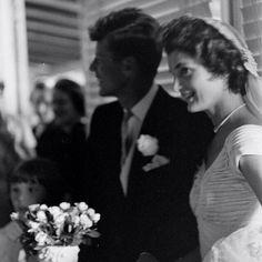 September 12, 1953.  #wedding #weddingday #weddingphotography #weddingphoto #weddingdress #bride #groom #brideandgroom #mrandmrs #mrandmrskennedy #kennedywedding #jfkwedding #september121953 #1953 #the50s #50sstyle #fifties #vintage #america