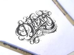 Dreams #inspiration #typography