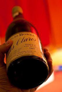 1947 Montes Claros, Borba, Alentejo, a delicious surprise we had decanted for Thanksgiving 2 years ago :)
