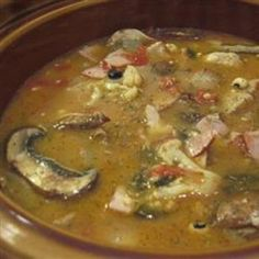 Ham and Bean Soup I
