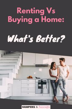 Moving to a new home can be life changing. But should you rent or buy a home? We break down the pros and cons of each so you can choose what's right for you. Mortgage Interest Rates, Mortgage Rates, Inexpensive Home Decor, Cheap Home Decor, Rent Vs Buy, Gentle Sleep Training, Mortgage Payment, Baby Led Weaning, Hampers
