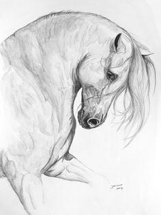 Sereno Painting - Sereno Fine Art Print #horse #horses #art #painting #stallion #stallions