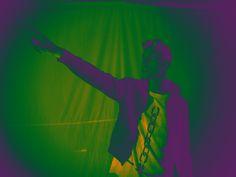 Purple-green Light