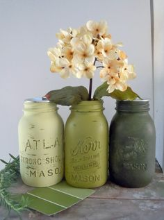 I have found a use for ALL these Mason Jars... :)