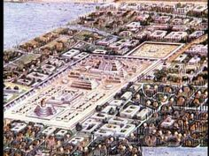 Tenochtitlan, a.k.a The Impossible City. Found in 1324 by the Aztecs on a small land. Aztecs added man-made land to expand the surface area with mud, grass, etc. Aztecs were wheel-less and may have had canals just like Venice, Italy. Medicine was sophisticated.