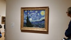 Vincent Van Gogh Starry Night Painting Moma Museum Of Modern Art New York