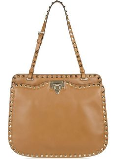 Valentino Studded leather shoulder bag