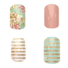 Simple combos, beautiful colors.  Ashley Dawson-Independent Jamberry Consultant