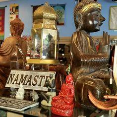 Namaste at #Plowshare #FairTrade in #Waukesha