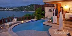 The Top caribbean all inclusive resorts for couples in St. Lucia  Sandals La toc