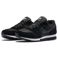 new arrival 0b20c 40f73 Buy Nike MD Runner 2 Women s Trainers, Black White Online at johnlewis.com