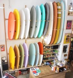 Some new @mitsvensurfboards @tyler_warren @swallowtailsociety and @anderson_surfboards boards just arrived at our Venice shop! Cruise in or check them out online via our profile link. by mollusksurfshop