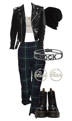 """""""Sans titre #3545"""" by mstfscxrus ❤ liked on Polyvore featuring SCHA, Dr. Martens, me you and Spallanzani"""