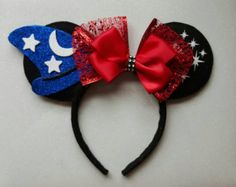 Snow White Evil Queen inspired Minnie Mouse Ears by MakeMeMinnie