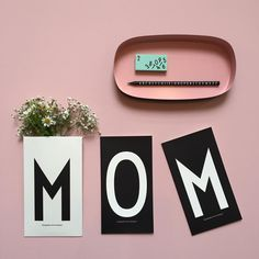 Remember Mother's Day on Sunday! Design Letters + Arne Jacobsen