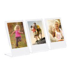 Andoer L-shape Acrylic Photo Frame Transparent Mini Stand for Fujifilm Instax Mini 8 70 90 25 26 9 Film Fujifilm Polaroid, Fujifilm Instax Mini 8, Makeup Artist Chair, Acrylic Photo Frames, Picture Holders, Transparent, Belle Photo, L Shape, Event Posters
