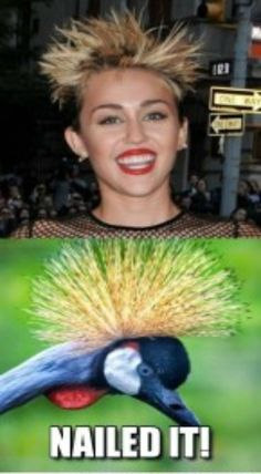Miley - nailed it
