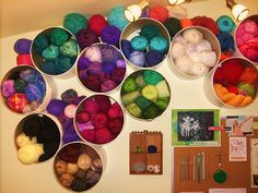 More canned yarn storage. Can store other things as well