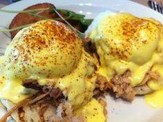 Smoke, Dallas; Pulled Whole Hog Eggs Benedict