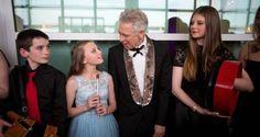 AdamClayton au gala annuel du The American Ireland Fund - New York 05/052016