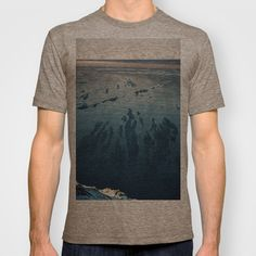 Ilulissat Greenland: The land of dog sleds and Midnight Sun T-shirt by David Hernández-Palmar - $18.00