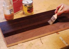 Pro Tips for Using Varnish and Stain: Get a silky smooth finish!