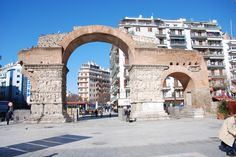 TRAVEL'IN GREECE I Arch of Galerius, Thessaloniki, Greece, #travelingreece