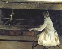 French Twist by Andrew Wyeth