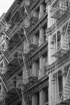 New York City. To think the fire escapes inspired this art