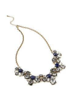 Floral Faux Gem Necklace | FOREVER21