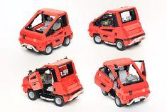 A tiny cyberpunk car with big style Lego Builder, Cyberpunk 2077, The Brethren, Fast Cars, Video Game, Lego Vehicles, Brick, Style, Swag