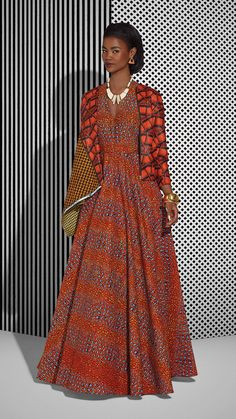 wax vlisco 2015 ~African fashion, Ankara, kitenge, African women dresses, African prints, African men's fashion, Nigerian style, Ghanaian fashion ~DKK  / rivièred'ocre / vêtements / motif / afrique / robe / rouge
