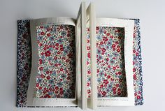 DIY - Nerdy Chic Book Clutch by Caught On A Whim, via Flickr