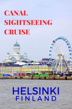 Canal Sightseeing Cruise in Helsinki , Finland with kids