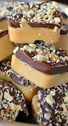 English Toffee Bites- a classic recipe *NOTE: this recipe is amazing! It's super easy and doesn't call for a bunch of crazy ingredients. Try making them in mini cupcake tins! They turn out perfectly round and adorable!!!