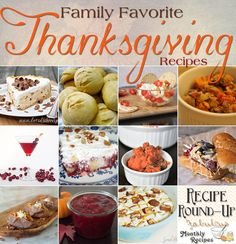 Family Favorite Thanksgiving Recipes