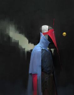 ArtStation - Red Mask, Anthony Jones
