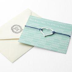 Open Heart Friendship Personalised Bracelet Multicoloured (Navy Shown)