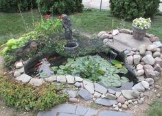 Pond is like a source of life, it enriches and refines your outdoor living space, adds movement, sound and smell. By creating a pond in your living space,