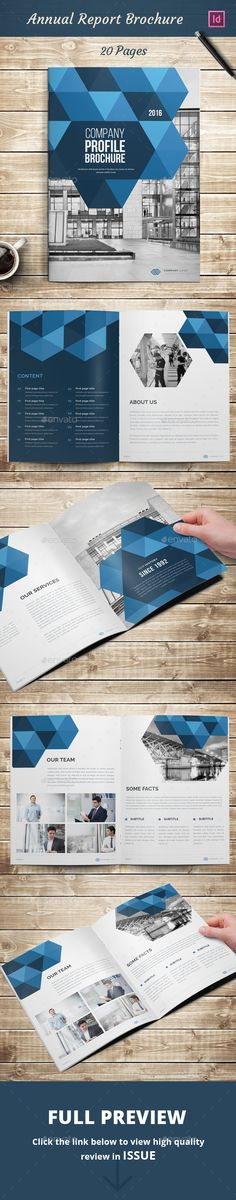 Annual Report Brochure Template InDesign INDD. Download here: http://graphicriver.net/item/annual-report-brochure/16606528?ref=ksioks