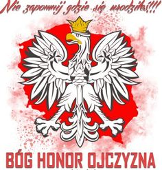 Błóg Honor i Ojczyzna Polish Eagle Tattoo, Polish Tattoos, World Country List, Polish Symbols, Poland History, Visit Poland, Stick N Poke, Motorcycle Clubs, Eagles