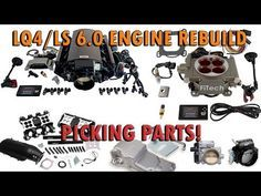 How To Build An LS Engine – Buying An Oil Pan, Intake, TB, Drive System Decisions Ls Engine Swap, Car Engine, 1959 Chevy Truck, Chevy Trucks, Chevy Motors, Car Restoration, All Cars, Engineering, Oil